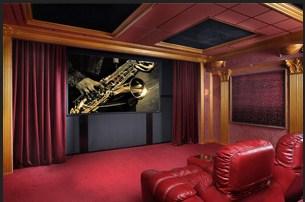 2016年青島家庭影院設計案例 私人別墅音響設備配置 華羿供