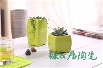 潮州方形花盆价格/潮州高品质观赏性方形花盆出厂价格/绿居供