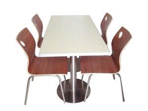 山東快餐桌椅一桌四椅 山東快餐桌椅一桌四椅價格便宜 江宿供
