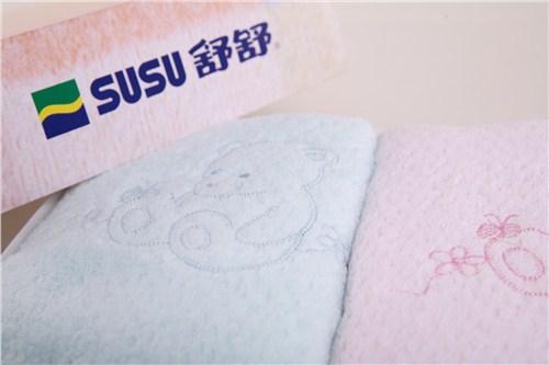 舒舒小熊繡花浴巾禮盒*優質全棉吸水價惠浴巾*理匯供