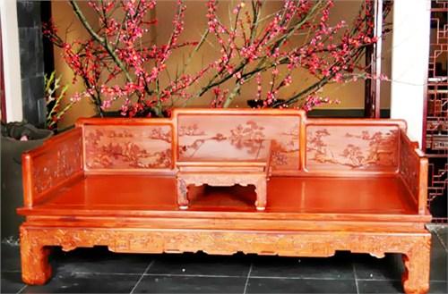 青島紅木家具價錢 青島不錯的紅木家具廠家 大雅之堂供