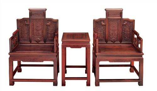 青島年年紅家具 青島不錯的紅木家具 大雅之堂供