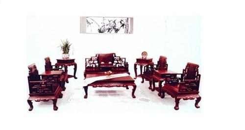 青島紅木書桌報價 青島不錯的紅木家具 大雅之堂供