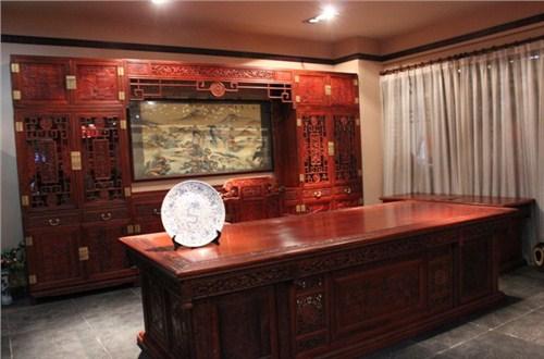 青島年年紅家具專賣 青島紅木家具價格 大雅之堂供