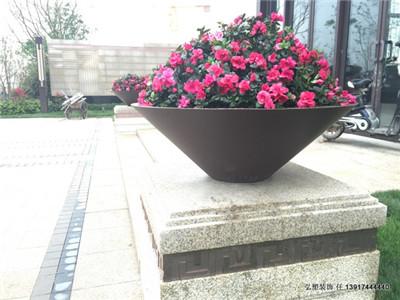 锻铜铸铜花盆价格 高质量锻铜铸铜花盆定制价格 弘塑供