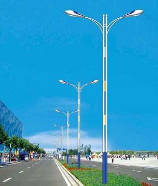 路燈燈桿廠家/雙頭路燈燈桿/7m路燈燈桿/億諾爾供