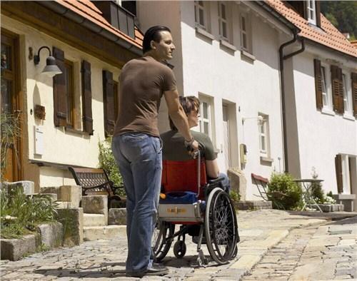 进口推行轮椅/电动推行轮椅/上海锝茂