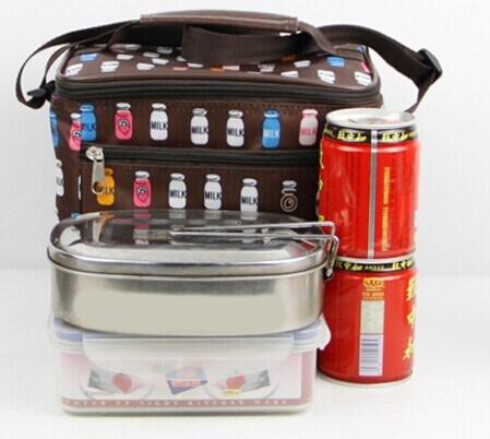 專業定制fzlg072保溫包小型便當飯盒包冰包鮮奶包