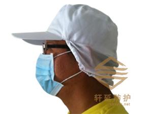 厂家直销车间男女网帽食品帽防尘帽工厂防护帽