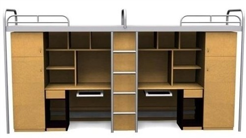 组合公寓床生产厂家/颖松供上海优质组合公寓床生产厂家经销加盟