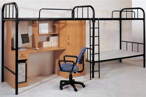 钢木公寓床生产厂家/苏州钢木公寓床生产厂家价格便宜/颖松供