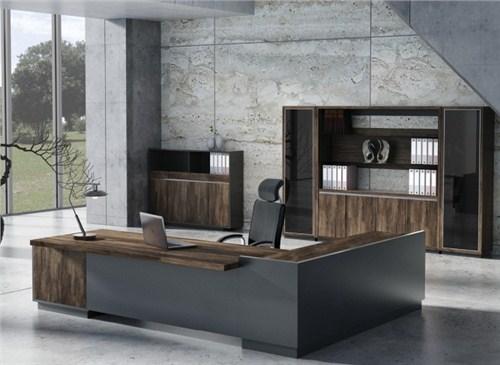 板式老板桌/颖松供/新款大班桌 经理桌厂家订做各种款式规格