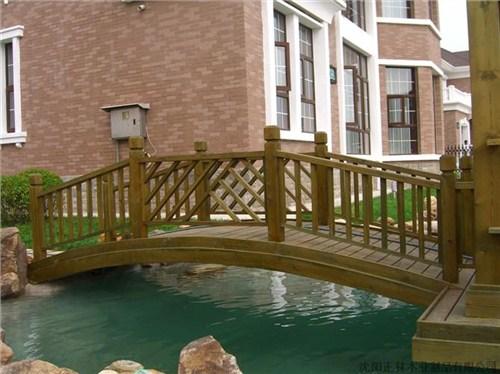 园林景观亲水平台建造*园林景观防腐木木桥建造*御悦供