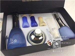 韩国蓝色水分子套盒一手货源 韩国蓝色水分子套盒促销活 妮佳供