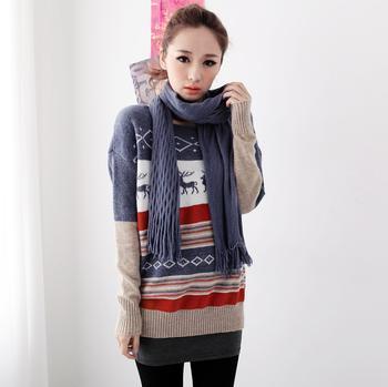 供應寬松版女式毛衣