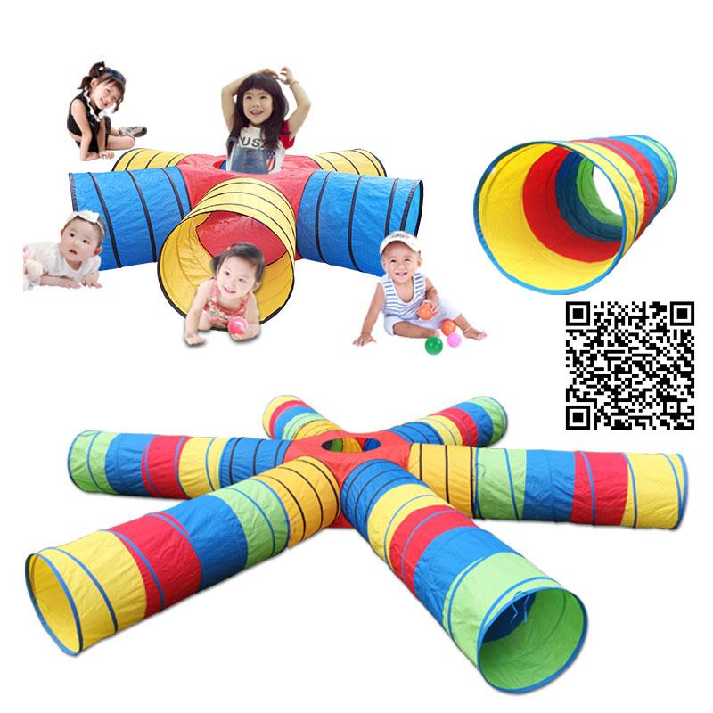 儿童爬行隧道钻筒