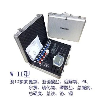 池塘水质检测,奥克丹W-2型水产水质分析仪,水产养殖水质检测