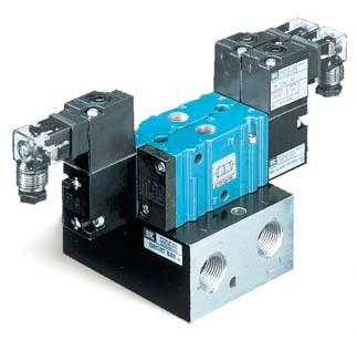 大三通管接式-板接式美国MAC电磁阀