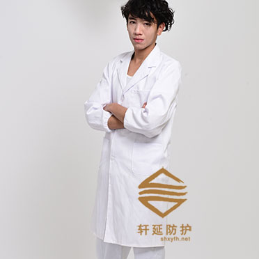 大褂工作服現貨白大褂定做白大褂實驗室大褂-首選上海軒延防護