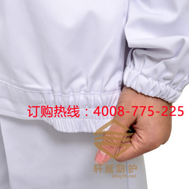 上海軒延專業定做食品工作服 食品廠服 男女食品服 食品工服