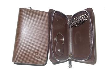 真皮鑰匙包設計制作 上海真皮鑰匙包批發采購 銳利供