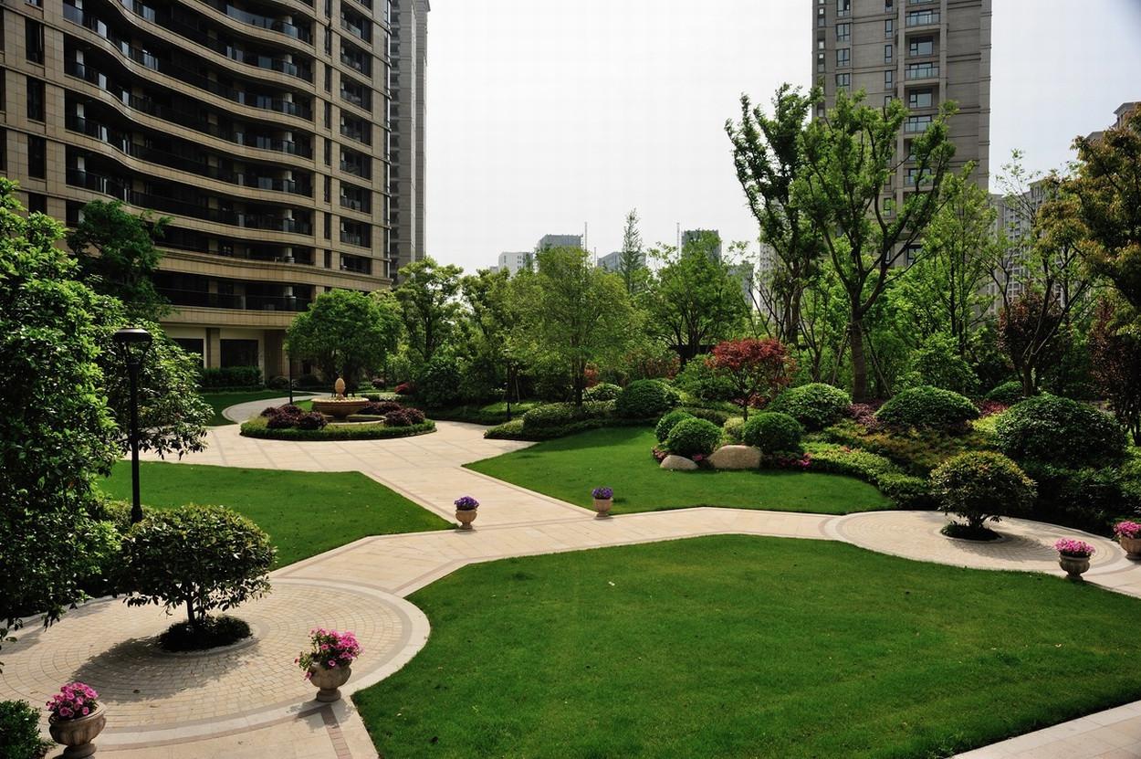 杨浦小区绿化工程 杨浦小区绿化工程专业技术团队 芷兰供
